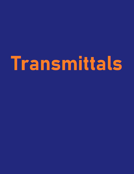 Construction Transmittal